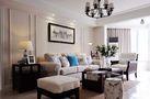140平米三室五厅美式风格客厅设计图