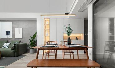80平米现代简约风格餐厅图片