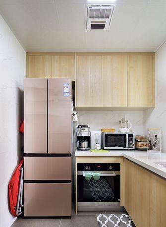 130平米三室两厅田园风格厨房图片大全
