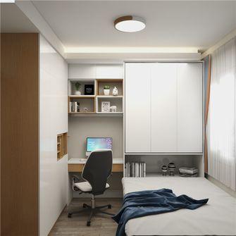 80平米北欧风格书房设计图