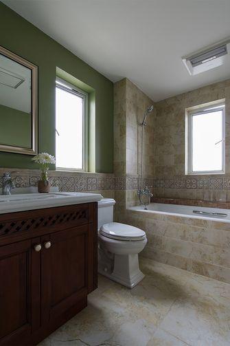 70平米一居室美式风格卫生间效果图