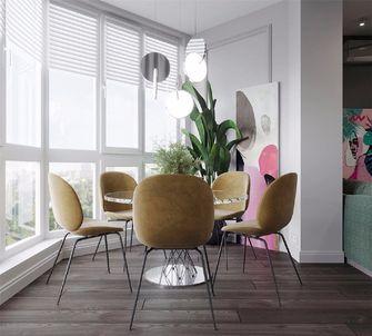 60平米一室一厅新古典风格阳台效果图
