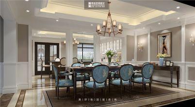 140平米别墅美式风格餐厅装修案例