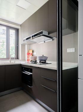 90平米三室一廳現代簡約風格廚房裝修圖片大全