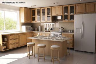经济型30平米以下超小户型英伦风格厨房装修效果图