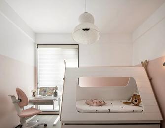 70平米三室两厅现代简约风格儿童房欣赏图