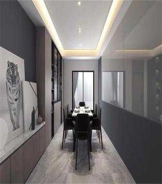 140平米三室两厅北欧风格餐厅装修案例