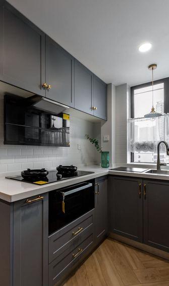 60平米公寓东南亚风格厨房设计图
