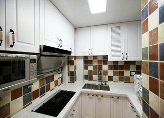 130平米三室两厅美式风格厨房设计图
