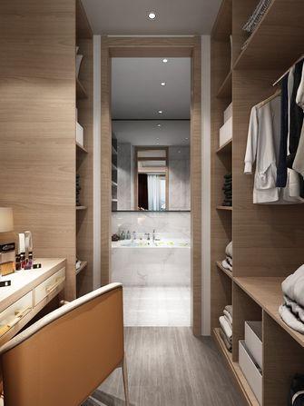 130平米三室两厅中式风格衣帽间装修案例