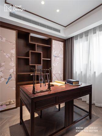 140平米公寓中式风格书房图片大全