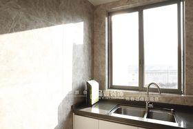 140平米四室一厅现代简约风格厨房装修案例
