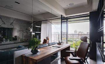 140平米四室四厅混搭风格餐厅图