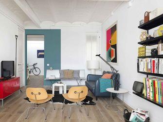 60平米宜家风格客厅设计图