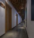 140平米田园风格走廊效果图