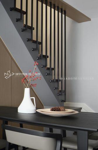 120平米复式现代简约风格楼梯间装修效果图