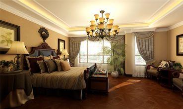 140平米别墅东南亚风格卧室装修案例