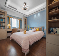 100平米三室两厅新古典风格儿童房装修效果图