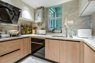 90平米三室两厅日式风格厨房设计图