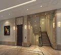 豪华型140平米别墅欧式风格楼梯效果图