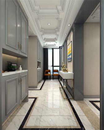 140平米三室三厅美式风格玄关图