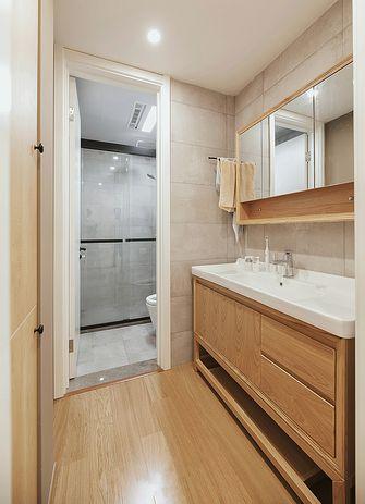 120平米三室一厅日式风格卫生间图