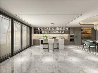 豪华型140平米别墅混搭风格餐厅图片