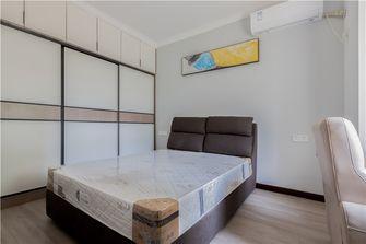 130平米三室两厅混搭风格卧室图片大全