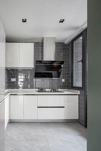 90平米三室一厅北欧风格厨房设计图