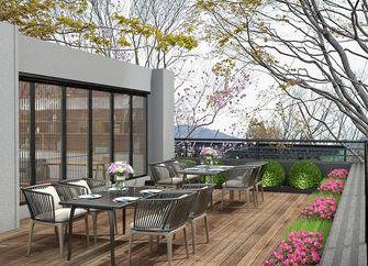 140平米四室一厅日式风格阳台欣赏图
