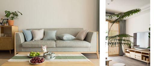 90平米日式风格客厅图片