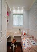 130平米三室两厅田园风格卧室图片