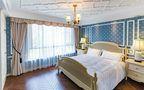 140平米别墅美式风格卧室壁纸欣赏图