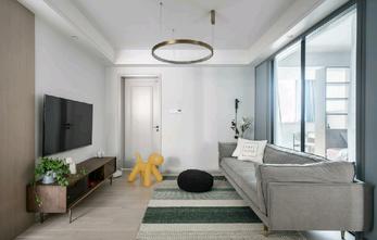 90平米现代简约风格客厅图片