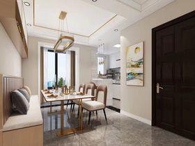 140平米別墅現代簡約風格餐廳圖片