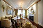 140平米三室两厅混搭风格客厅沙发图