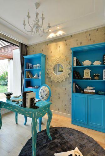 80平米三室两厅地中海风格书房装修案例