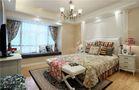 140平米三室两厅地中海风格卧室欣赏图