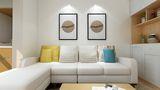 50平米小户型日式风格客厅图片