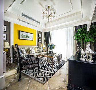 90平米一室两厅混搭风格客厅欣赏图