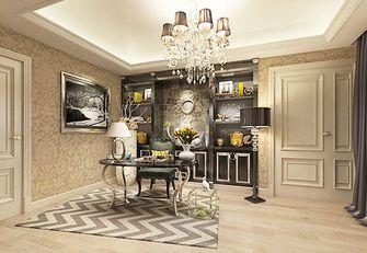 140平米四室三厅欧式风格书房效果图