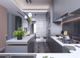140平米四室一厅法式风格厨房图
