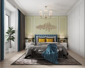 130平米美式风格卧室装修图片大全