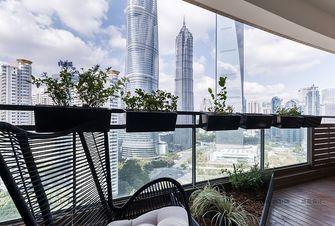 140平米四室三厅现代简约风格阳台欣赏图