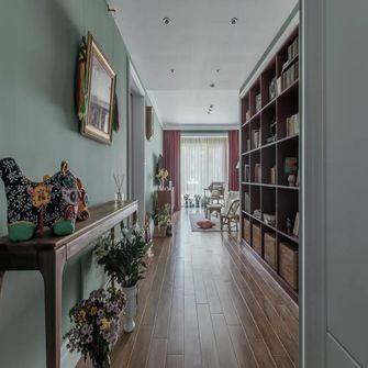 80平米一室一厅田园风格玄关图片大全