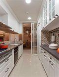 80平米英伦风格厨房装修图片大全