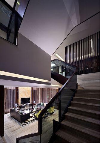 富裕型140平米中式风格楼梯装修图片大全