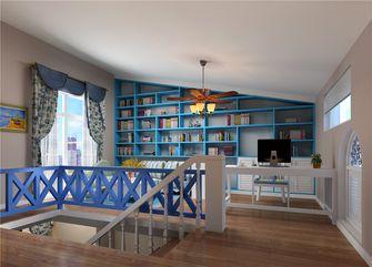 140平米复式地中海风格书房装修图片大全