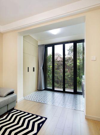 130平米三室两厅田园风格阳台设计图