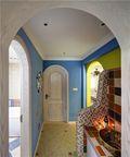 110平米三室两厅地中海风格走廊装修案例